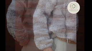 Puff Sleeves Sweater - kit novo!