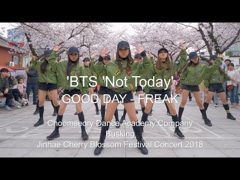 [Busking]  BTS (방탄소년단) 'Not Today' & GOOD DAY - FREAK /  Dance Cover