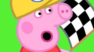 Peppa Pig English Episodes | Car Race Time With Peppa Pig! | Peppa Pig Official