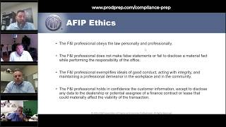 Compliance Prep 06-23-20 - Q&A with AFIP & Shannon Robertson