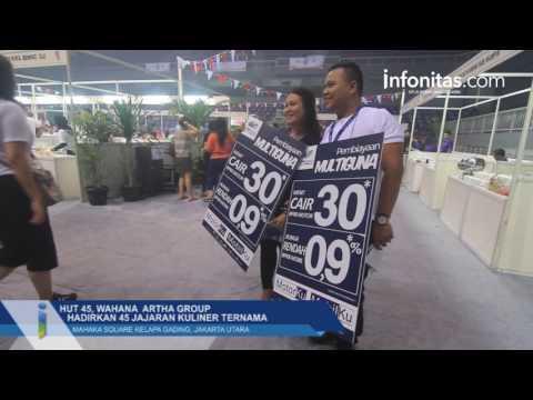 HUT 45, Wahana Artha Group Hadirkan 45 Jajaran Kuliner Ternama, Kelapa gading