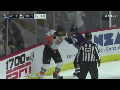 Ben Thomson vs. Tye McGinn