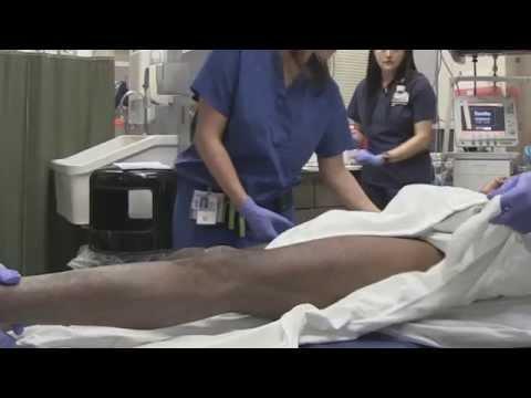 Übung bei Verletzung des Schultergelenks