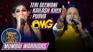 OMG Fab Performance by Kailash Kher, Purva on Teri Deewani Deewani, Mumbai, Indian Pro Music League