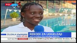 Rekodi ya uogeleaji : Sera Makena Mawira aandikisha rekodi katika shindano la uogeleaji nchini