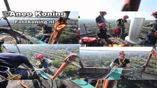 preview picture of video 'De Bilt: Team Hoogteredding VRU oefent in De Bilt'