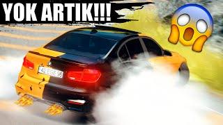 MODİFİYELİ BMW F30 320i İLE DRİFT !! @Ahmet Akpunar