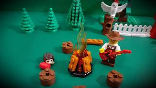 Video THE(y) WANTED - CHATA U SVITAVY (LEGO stop motion)