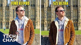 Oppo Find X3 Pro vs Galaxy S21 Ultra CAMERA Comparison!