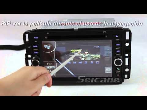 Especial estéreo del coche Reproductor dvd sistema de navegación GPS radio para Hummer H2 Bluetooth