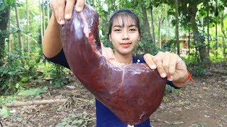 Yummy cooking Beef Liver with Chilly Pepper recipe - Cooking skill