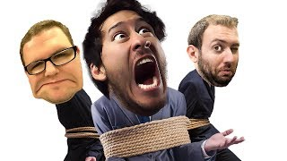 WHAT IF WE WERE TIED TOGETHER? what could go WRONG?!