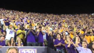 WATCH: Here's what LSU's student section sounds like