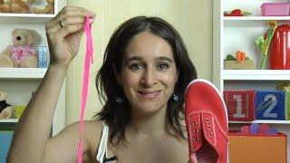 Aprender a atarse los zapatos