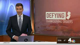 NJ Police Chief Refuses to Enforce Thanksgiving Crackdown   NBC New York