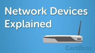 Network Devices Explained   Hub, Bridge, Router, Switch