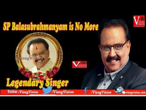 Tollywood Actoris on Emotional Words on SP BalaSubrahmanyam Vizagvision
