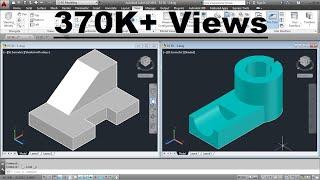 AutoCAD 3D Basics Training Exercises - 1 of 3