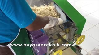 Tutorial Cara Membuat MIE KARET menggunakan Mesin Mie Tipe KL 945 dan Mixer MS 410