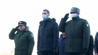 Михаил Дегтярев принял участие в церемонии возложения ц...