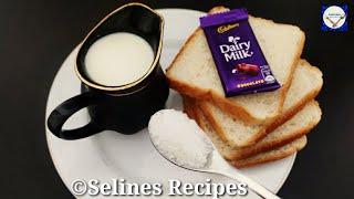 5 Minutes Evening Snacks Recipe | Crispy &Sweet Bread Snacks | Lockdown Recipes |