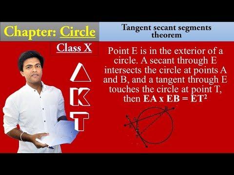CIRCLE Chapter | Class X | Part 15| THEOREM: