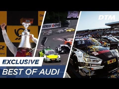 AUDI - The best moments of DTM season 2017