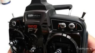 Análise drone Walkera QR X350 Pro #3 - comando Devo F7