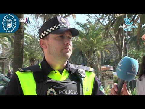 190225 - Policía Local Málaga - Aparcamientos reservados para Personas con Movilidad Reducida (PMR)