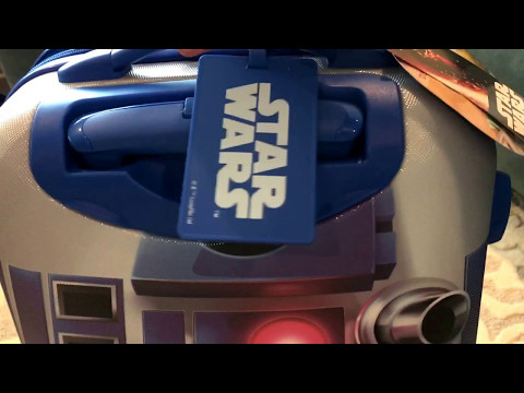 "Checking out the American Tourister R2 D2 21"" luggage"