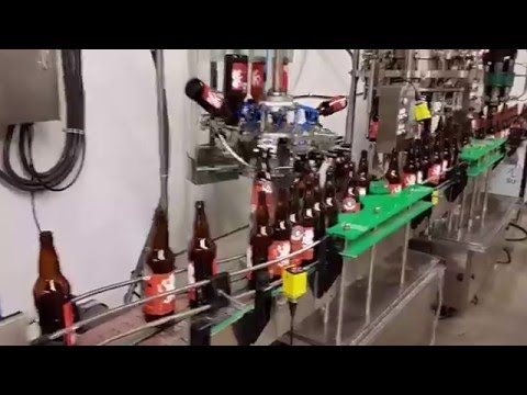 8 Head rotary Bottle filler Bottle filler sold by BC Packaging Service Brew-Stuff