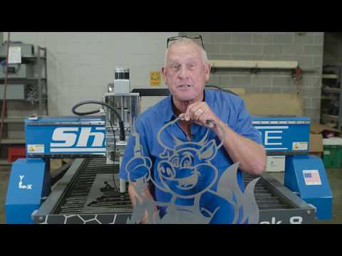 ShopSabre CNC SideKick Plasma Machine – BBQ Signvideo thumb