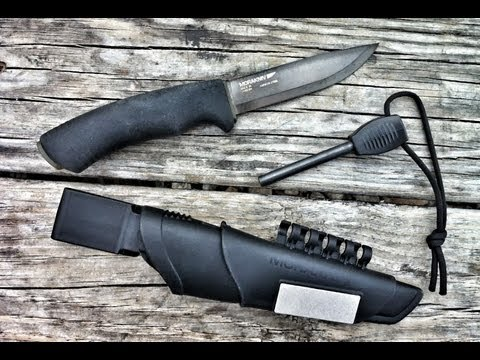 Black Scout Reviews – Mora Bushcraft Survival Black Knife