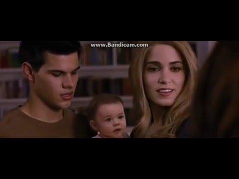Twilight Saga Breaking Dawn Part2 || Jacob imprints On Renesmee