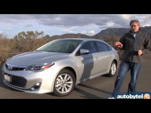 2014 Toyota Avalon XLE Premium Test Drive Video Review