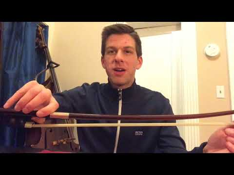 Darren Sacks - Top 3 Double Bass Bow Hold Mistakes