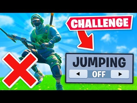WINNING Without JUMPING Challenge!