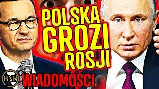 Morawiecki OSTRZEGA Putina! Rosyjska armia W GOTOWOŚCI | WIADOMOŚCI