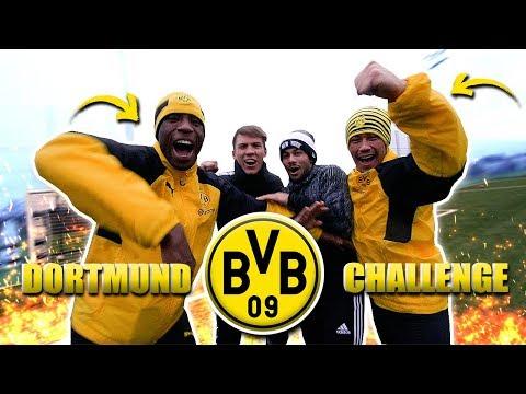 Die BESTE Fußball Challenge mit BVB Spielern