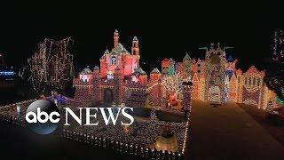 Entire Neighborhoods Battle for Best Christmas Light Display