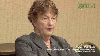 JAPAN NUCLEAR CRISIS: THE DANGERS OF RADIATION. DR. HELEN CALDICOTT. GlobalResearch.ca