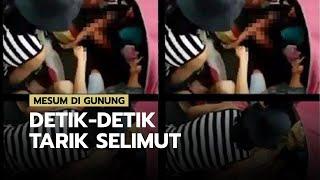 Detik-detik Penarikan Selimut Pasangan Mesum yang Tuai Kecaman di Media Sosial, Diduga di Sumut