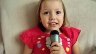 My 5 year old singing Eve 6 Lost and Found!