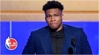 Giannis' Emotional MVP Acceptance Speech | 2019 NBA Awards