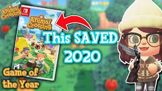 Why Animal Crossing: New Horizons Deserves to Win Game of the Year