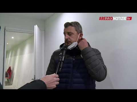 Mantova-Arezzo 2-0, intervista a mister Camplone