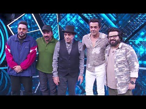 Dharmendra, Sunny Deol, Bobby Deol Promote Yamla Pagla Deewana Phir Se On Dil Hai Hindustani 2 Show