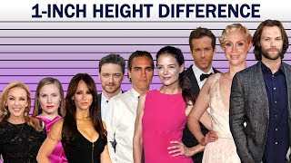 What does a 1-INCH Height Difference Look Like? (4ft 10 to 6ft 9)