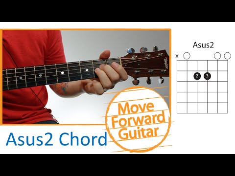 Guitar Chords for Beginners - Asus2