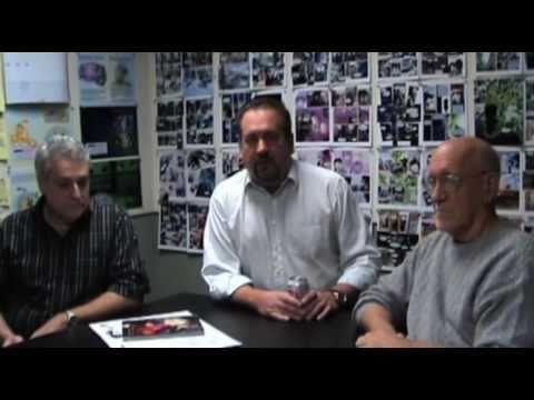 0 Exclusive behind the scenes video of RIP M.D. creators
